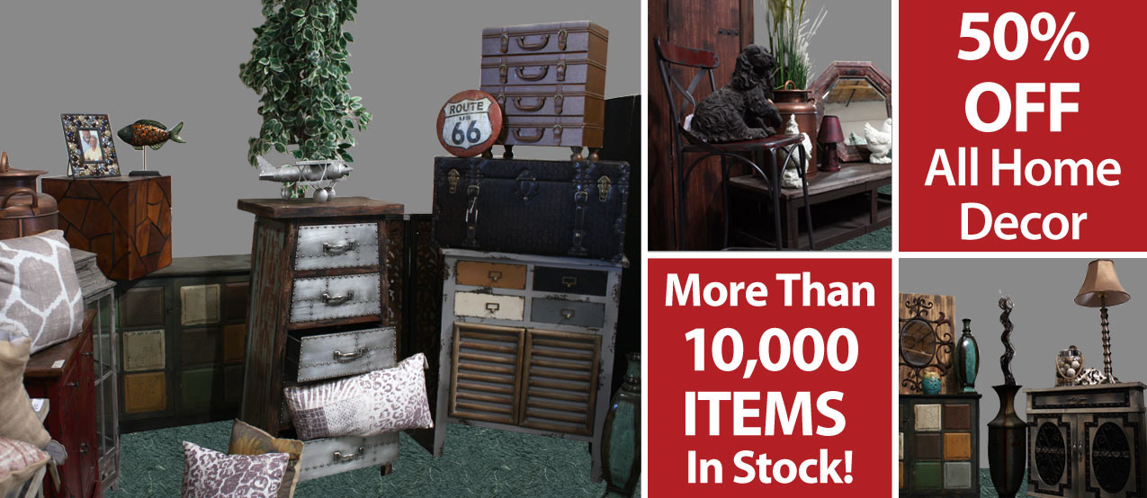 Thats Right All Our Home Decor Is 50 Off The Ticketed Price You Will Not Find Deals Like This Anywhere Else In Las Vegas